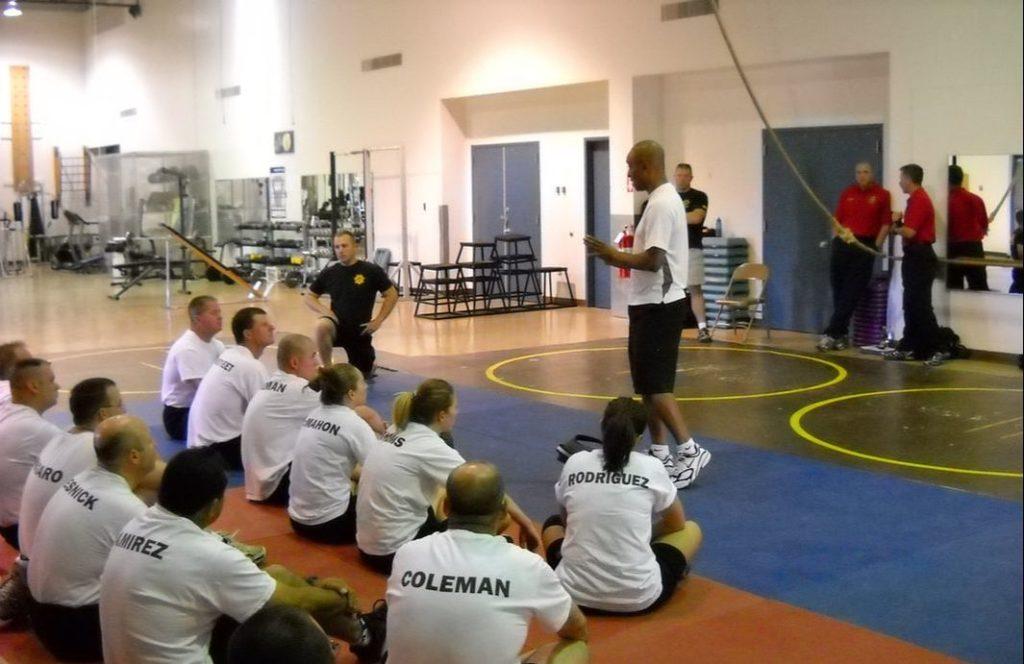 Joseph Walker in Training Session